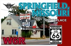 qsl template ROUTE 66 3