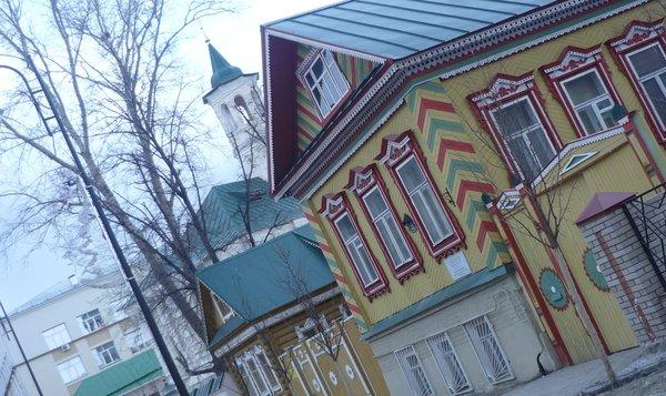 Аллея дружбы в Казани