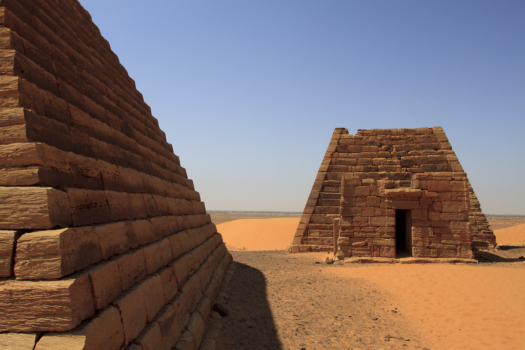 Nubian Pyramid Desert Trip