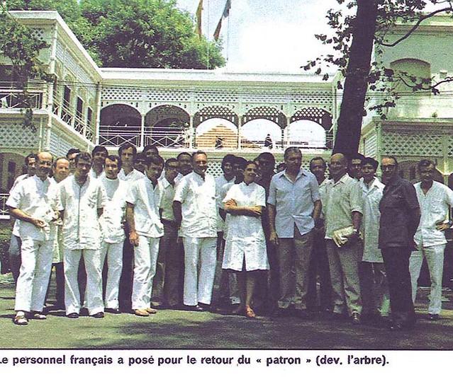 Saïgon 1975 - Les médecins de Grall attendent les événements (photo Paris-Match)