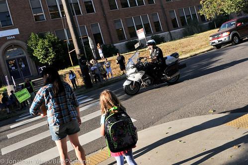 Crosswalk enforcement action NE Killingsworth-7