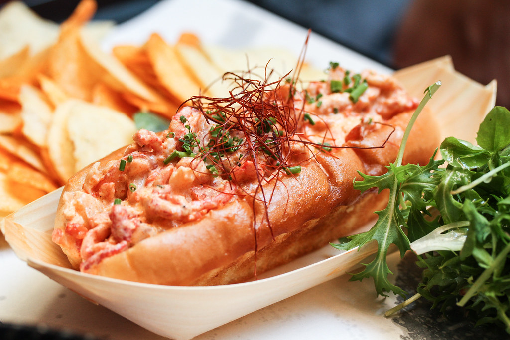 Platypus Lobster Shack: Lobster Roll
