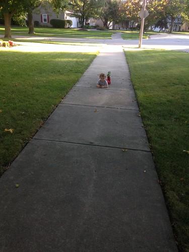 Elliott Gives Up on Walk Home