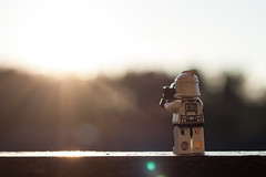 #004 Stormtrooper with a camera - The sunset