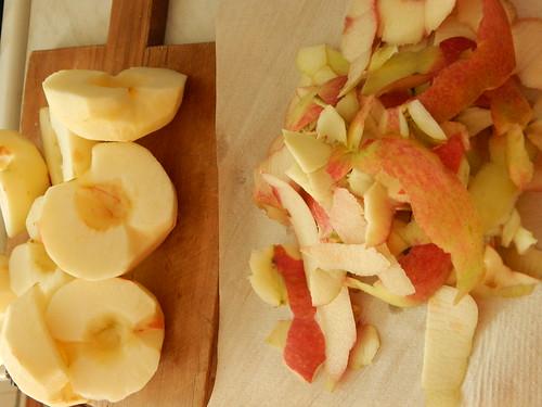 яблоки.  расчлененка