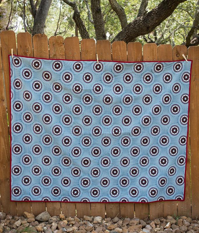 AMH velveteen quilt