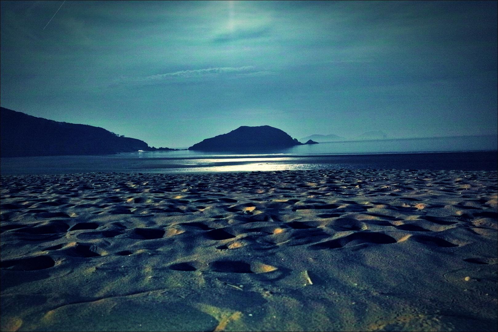 해변-'굴업도 백패킹'