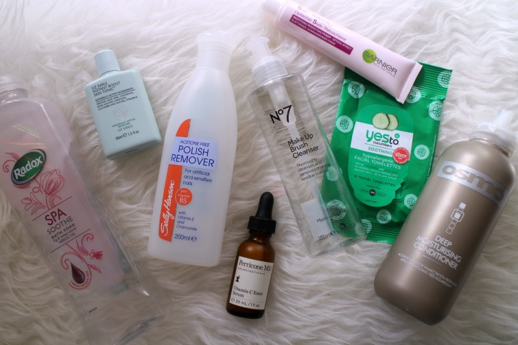 Beauty Empties - September