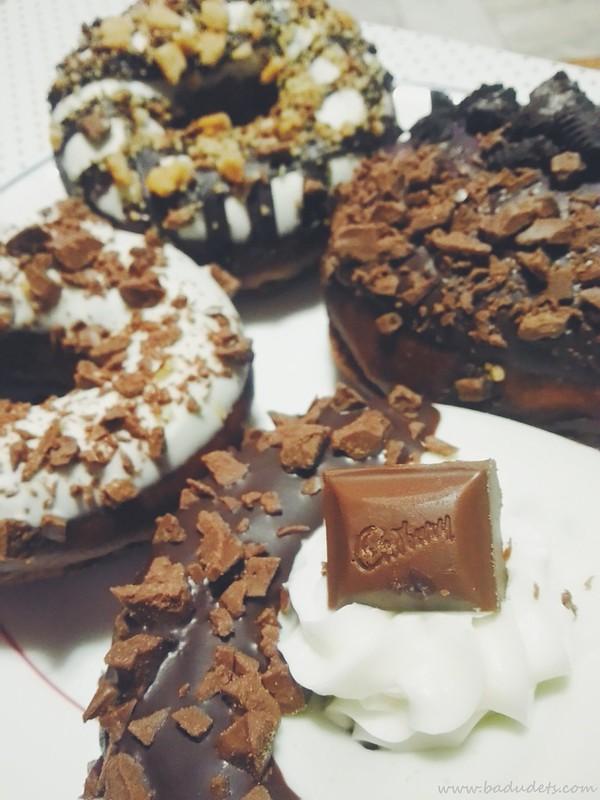 Krispy Kreme Limited Edition Cadbury donuts