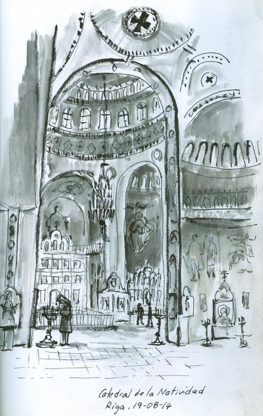 Catedral ortodoxa, Riga