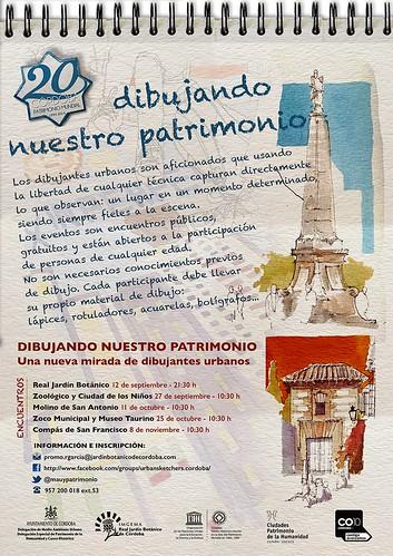 Urban Sketchers de Córdoba: Dibujando nuestro patrimonio