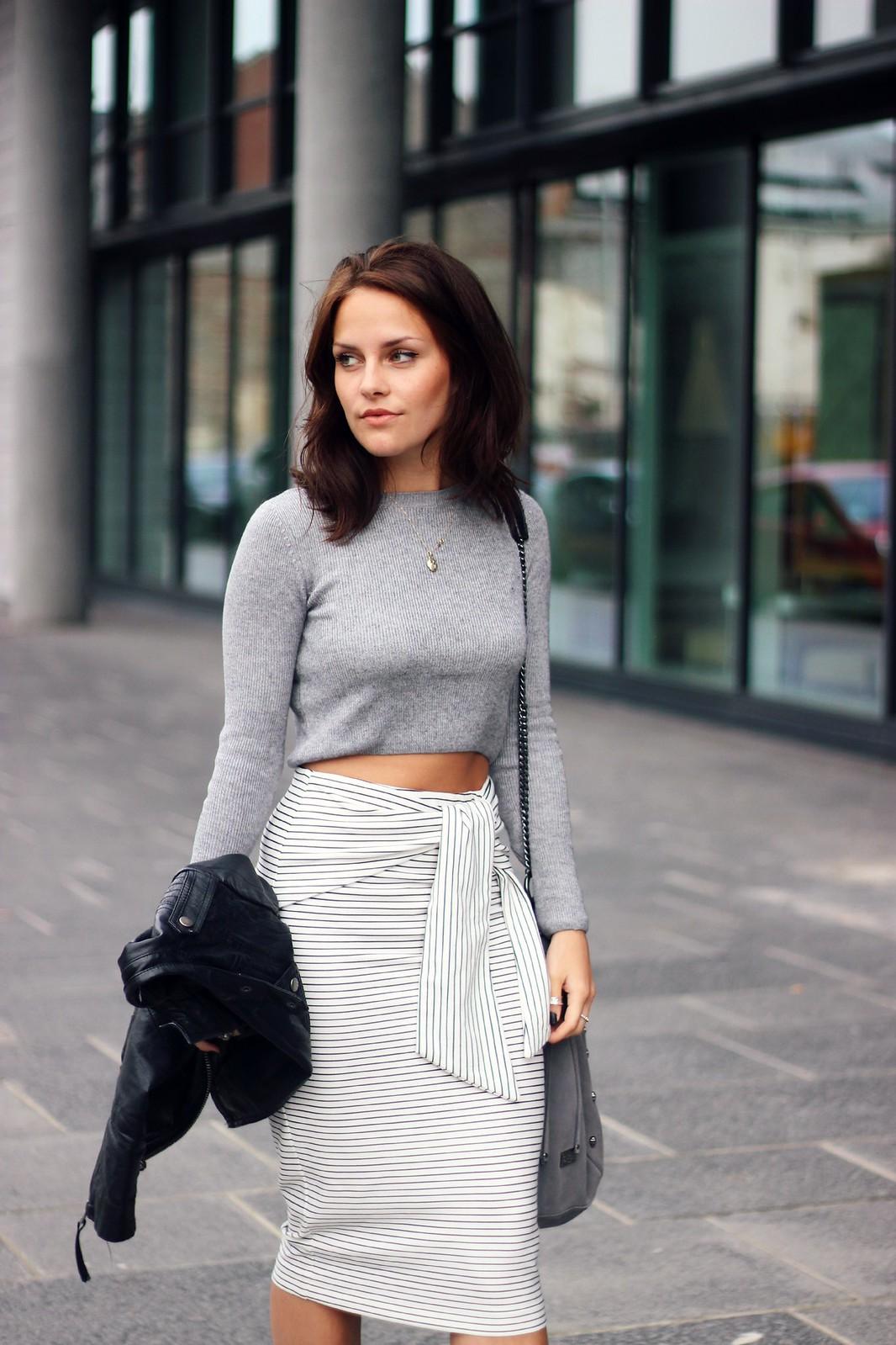 Zara Tie-Waist skirt 4