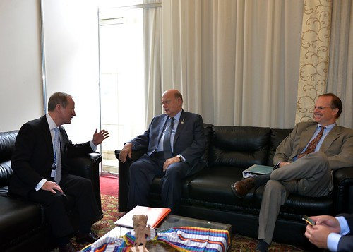 OAS Secretary General meets with US Assistant Secretary for International Narcotics and Law Enforcement Affairs