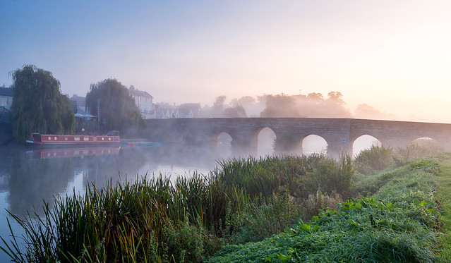 Misty Avon Bridge