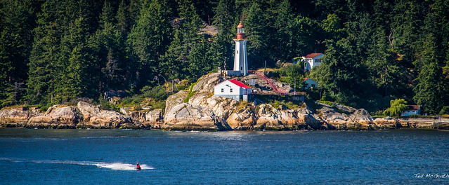 2014 - Vancouver - Alaska Cruise - Lighthouse Park - Point Atkinson Lighthouse