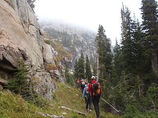 Grassy Shelf Leading to Grace Falls