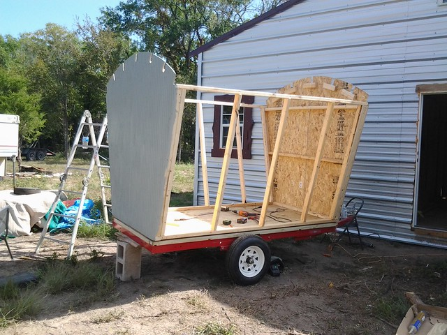 started building our gypsy vardo camper construction and diy