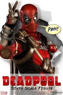 爆笑、歡樂又嘴炮的超級英雄「死侍 Deadpool」Sideshow 1/6 比例登場!