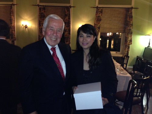 Dinner with US. Sen Lugar, Washington DC