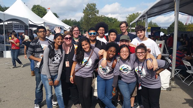 Mouse Corps @ Maker Faire NYC Sept 20, 2014