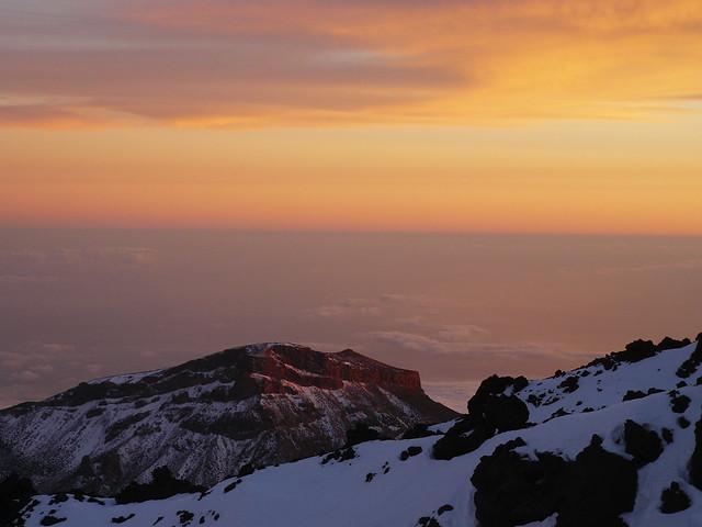 Mt Teide Sunset