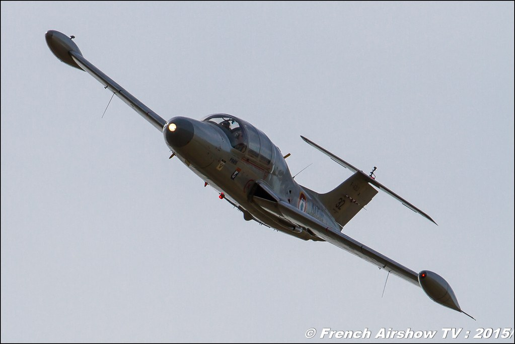 Fouga CM-170 Magister,F-AZZP, Fly in LFBK 2015 - Fly in Saint Yan 2015, Meeting Aerien 2015