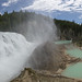Wapta Falls Panorama by hanneketravels