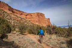 Ute Canyon to White Rocks (2-25-17)