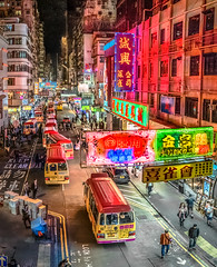 Mong Kok After Dark: Neon Nights