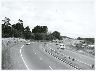 Auckland. North-Western Motorway. (Going north towards Te Atatu)