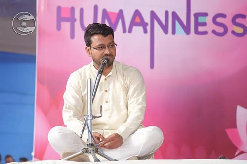 Stage secretary, Suhas Patil form Mumbai