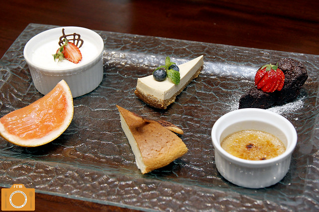 Magosaburo Dessert Platter