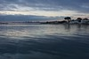 Fading light on the bay, Melbourne by jozioau