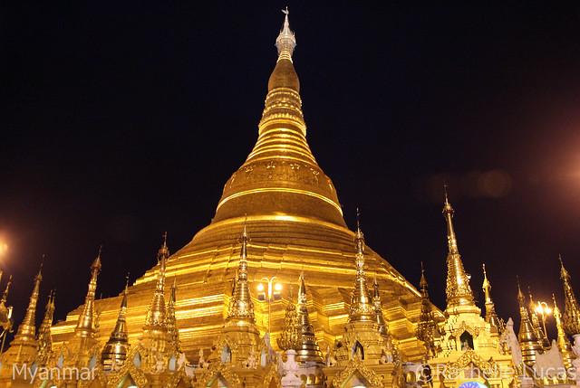 Shwedagon Pagoda-3