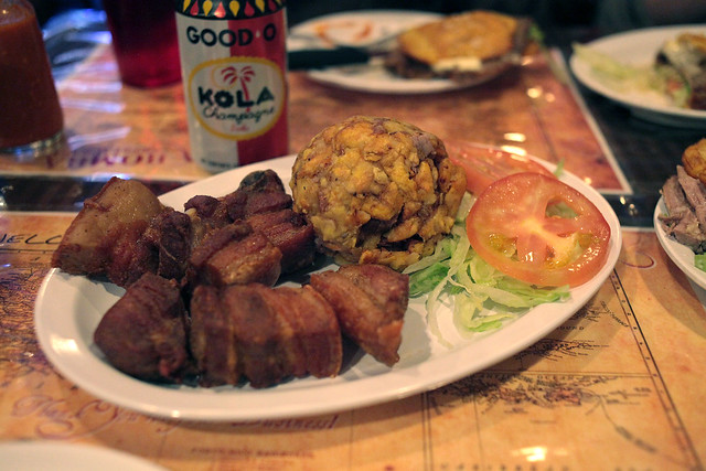 Mofongo with pork