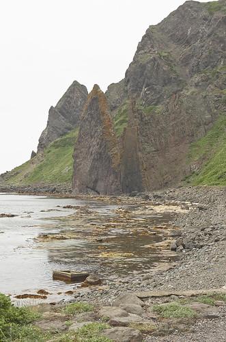 【写真】離島めぐり : 地蔵岩