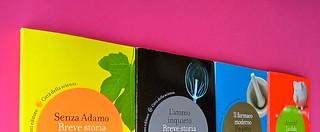 Città della scienza; vol. 1, 2, 3, 4. Carocci editore 2014. Progetto Grafico di Falcinelli & Co. Copertine: vol. 2, 3, 1, 4 (part.) 3
