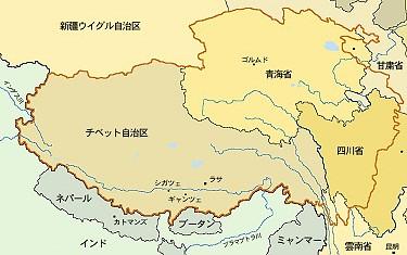 チベット全図