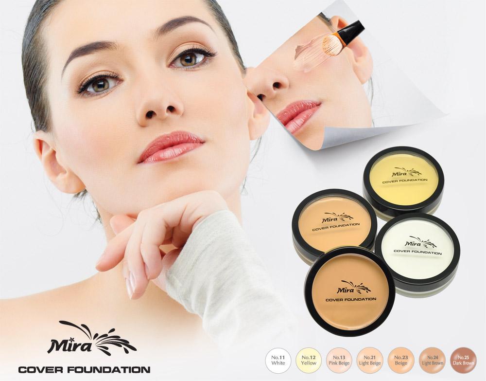 Kem che khuyết điểm MIRA cover foundation
