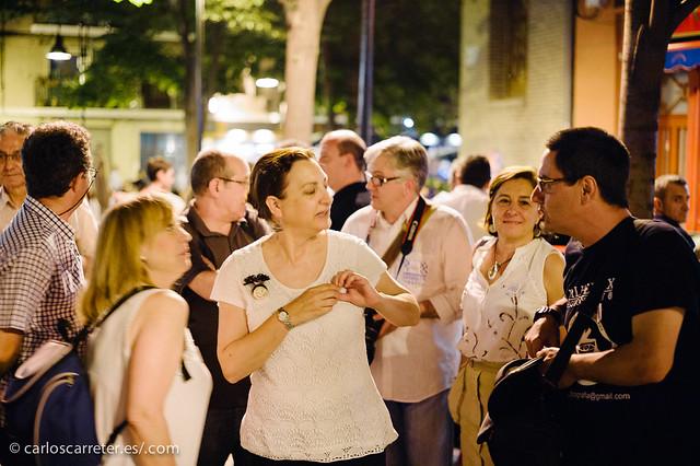 Fotógraf@s en Zaragoza (FeZ) en La noche en blanco