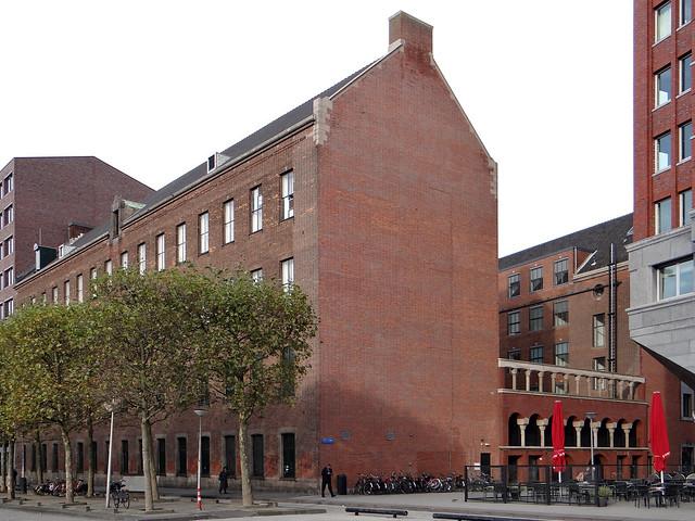 Binnenrotte vm KPN-gebouw