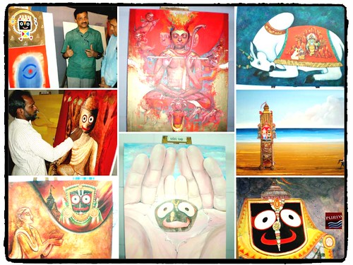 Nila kandar art exhibition of Lord Jagannath Paintings