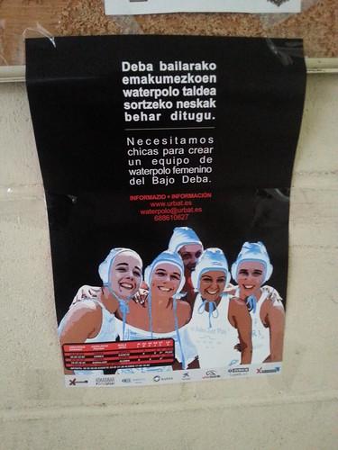 Se buscan chicas para equipo de waterpolo en el Bajo Deba
