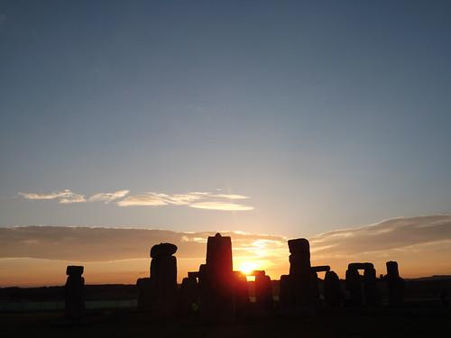 Stonehenge Sunrise Mid-Summer