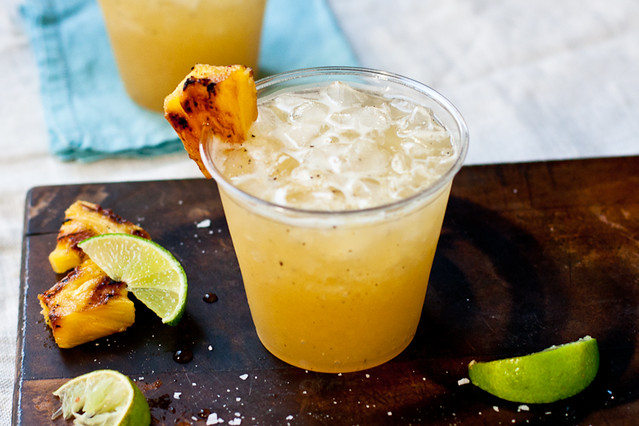 Grilled Pineapple Margarita