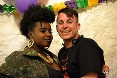 Misha B and Dane at North Wales Pride 2014