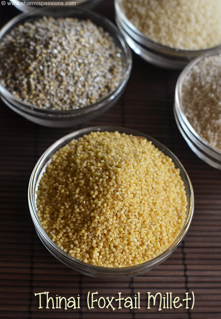 How to cook millets - Millet Types - Varagu Saamai Thinai