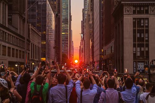 Manhattanhenge 7/11/2014