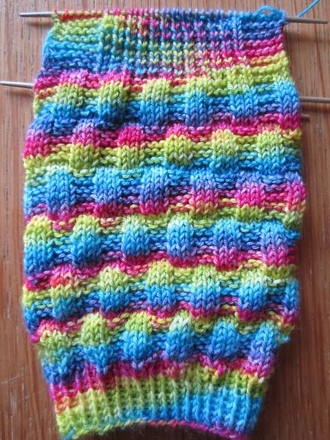 Gabriola socks 1 WIP (1)