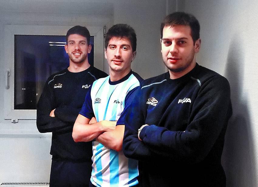 Facu, Nico y Luciano